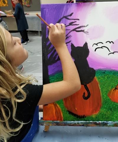 classes paint kids