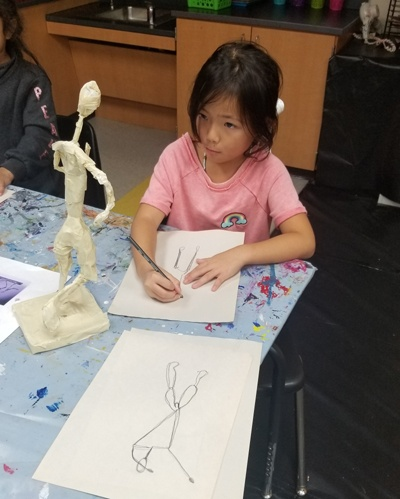 drawing sculpture
