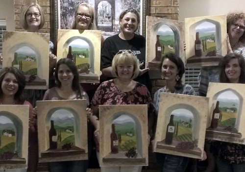 GNO painting party